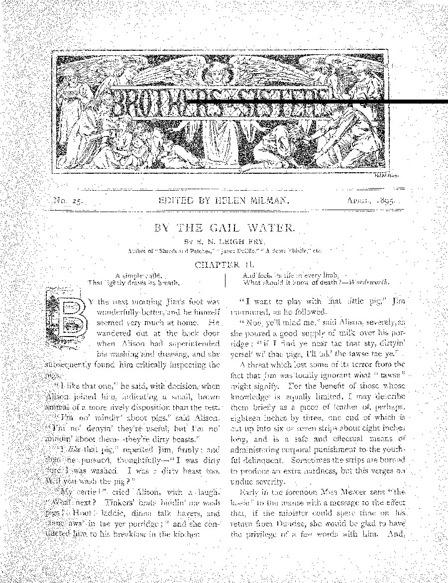 Brothers and Sisters April 1895 - page 1