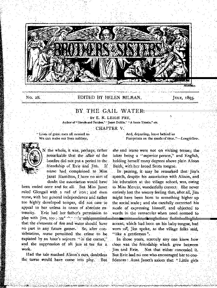 Brothers and Sisters July 1895 - page 1