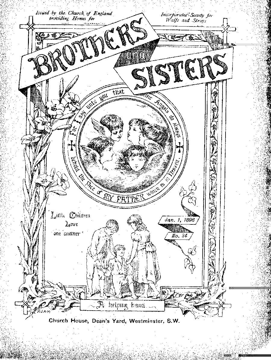 Brothers and Sisters January 1896 - page 1