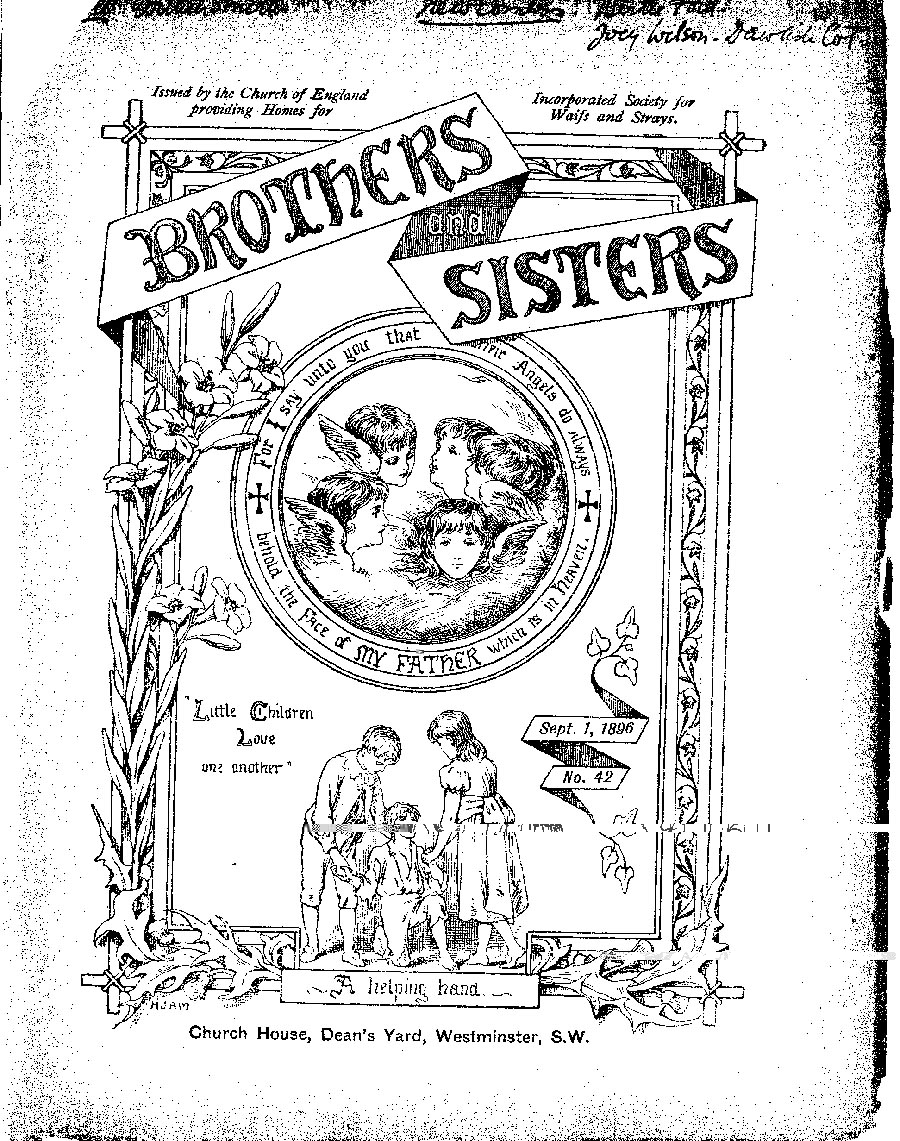 Brothers and Sisters September 1896 - page 1