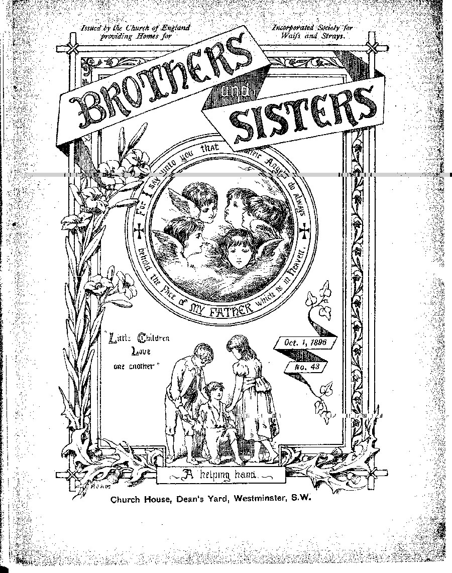 Brothers and Sisters October 1896 - page 1