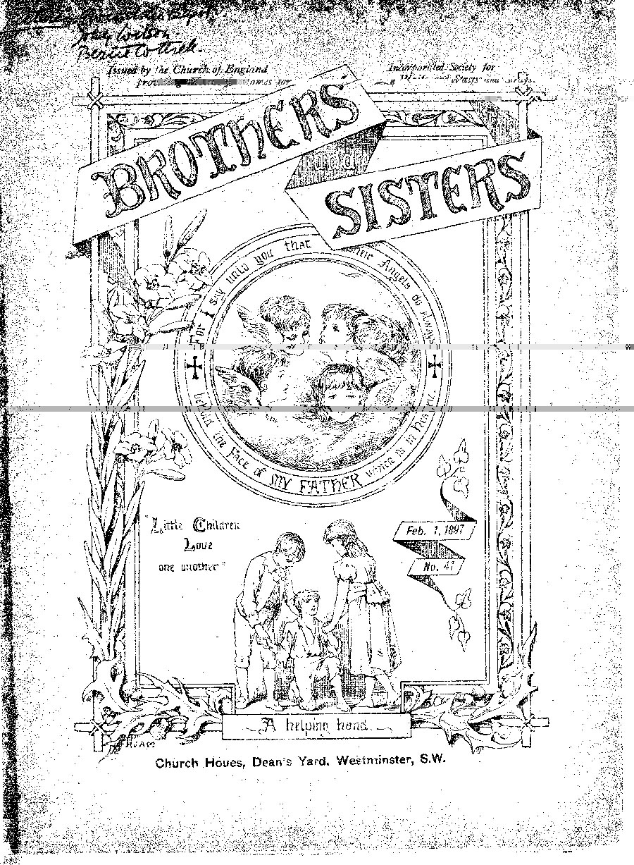 Brothers and Sisters February 1897 - page 1