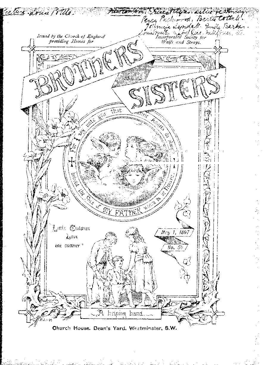 Brothers and Sisters May 1897 - page 1