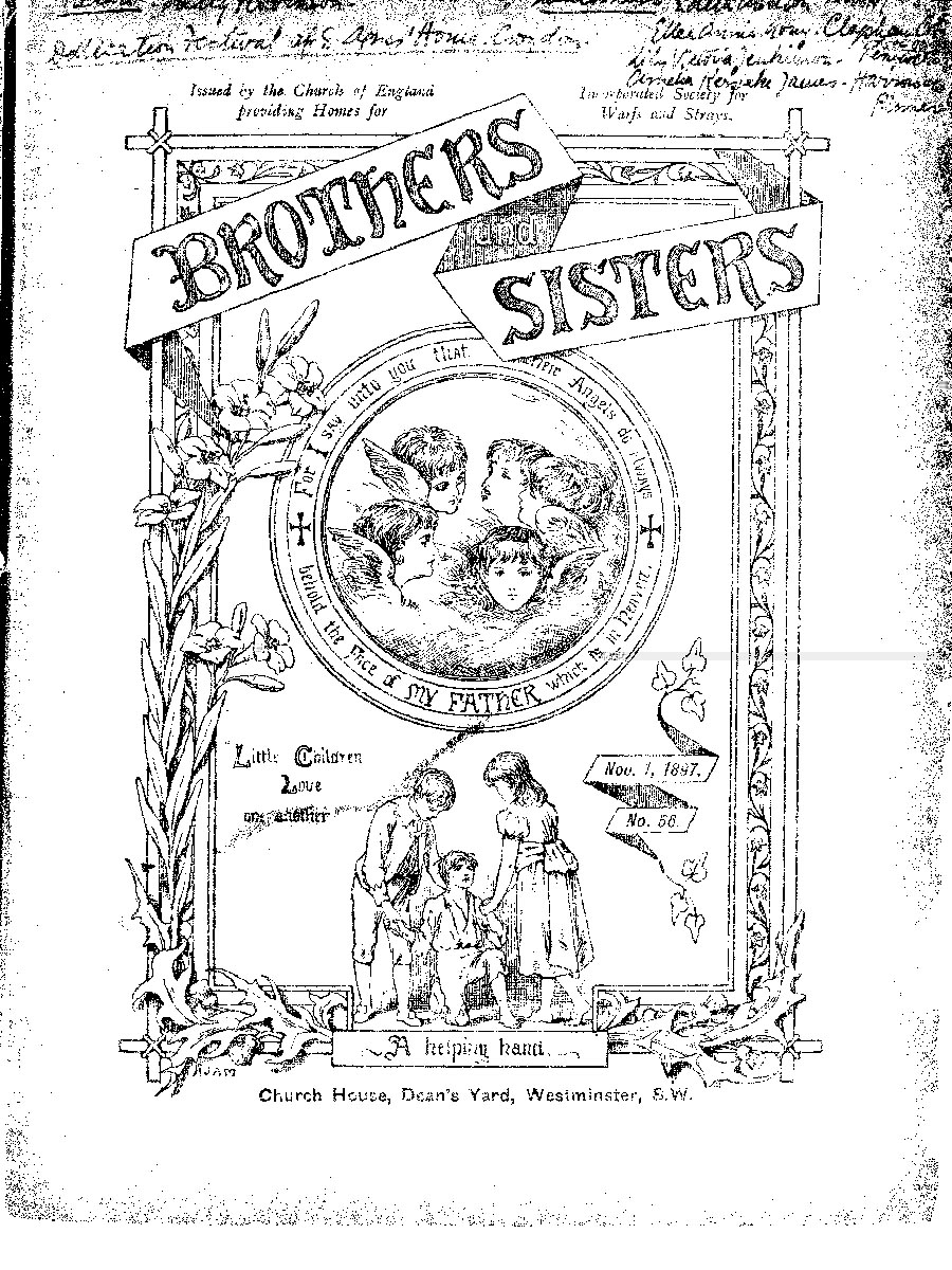 Brothers and Sisters November 1897 - page 1