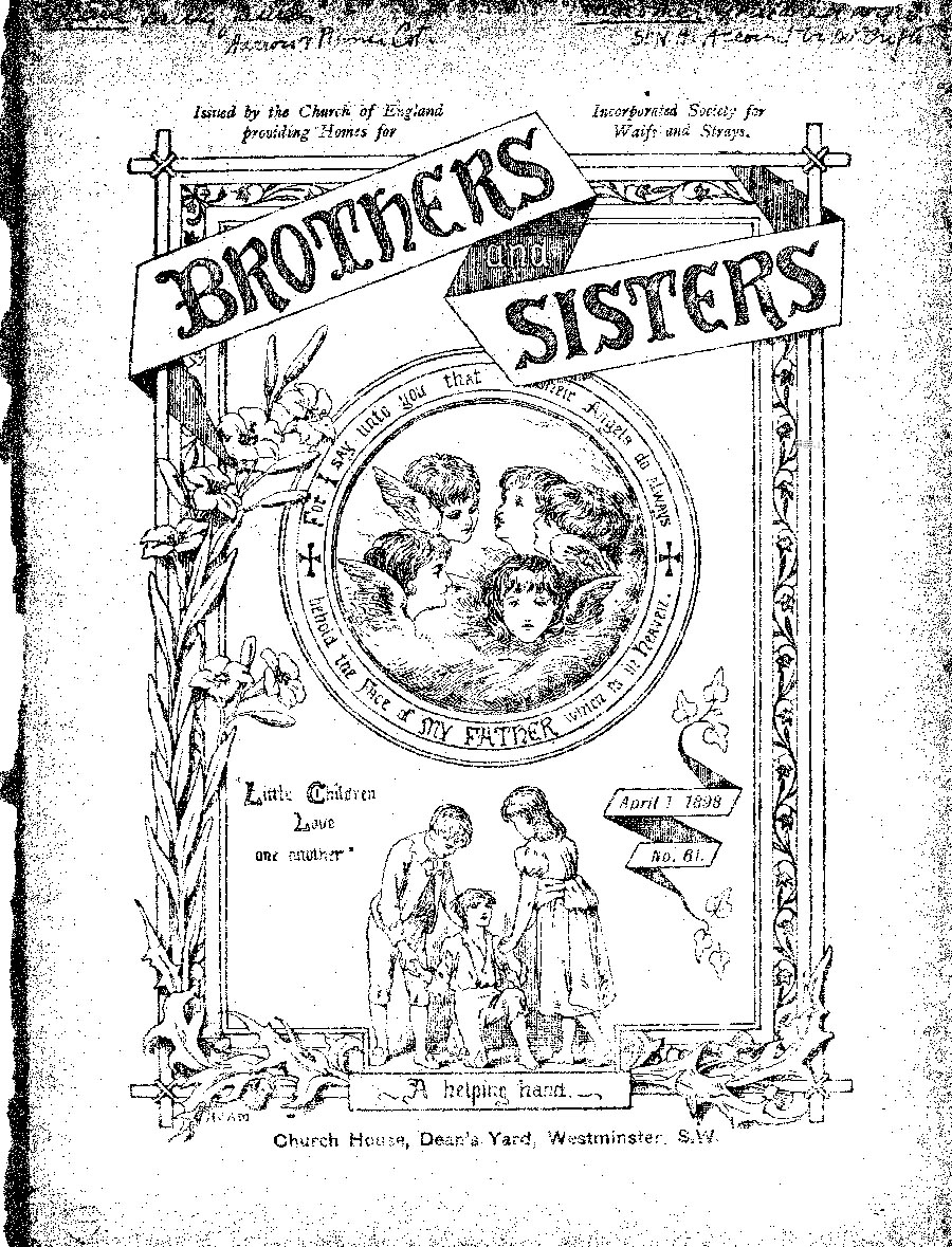 Brothers and Sisters April 1898 - page 1