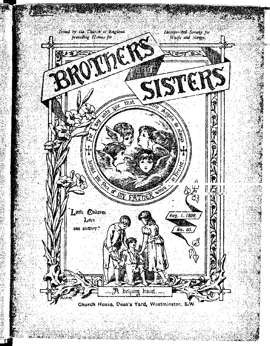 Brothers and Sisters August 1898 - page 1
