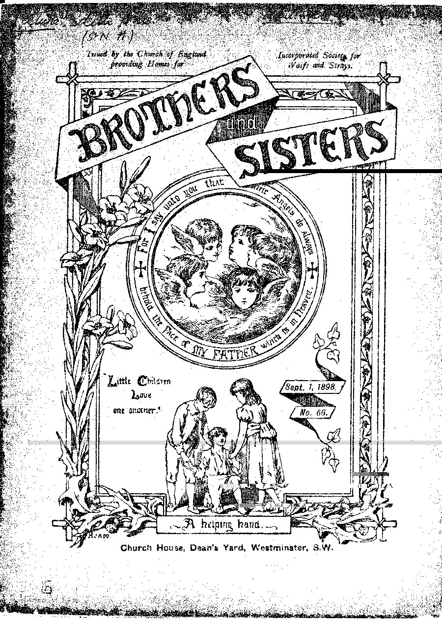 Brothers and Sisters September 1898 - page 1