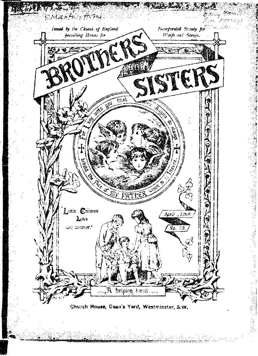 Brothers and Sisters April 1899 - page 1