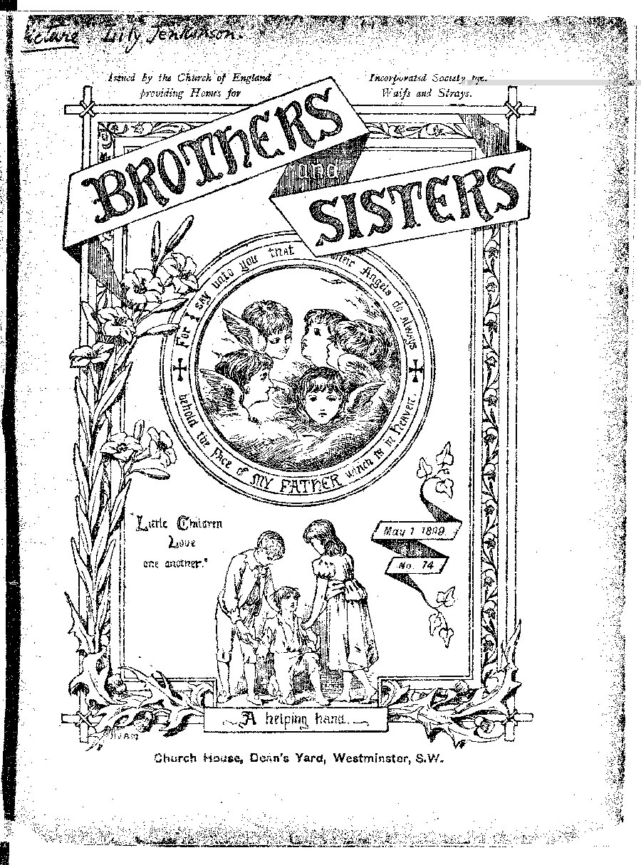 Brothers and Sisters May 1899 - page 1