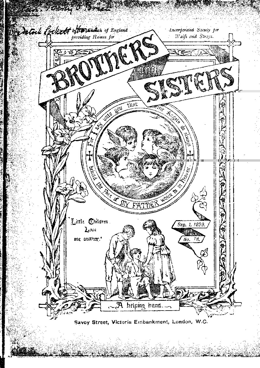 Brothers and Sisters September 1899 - page 1