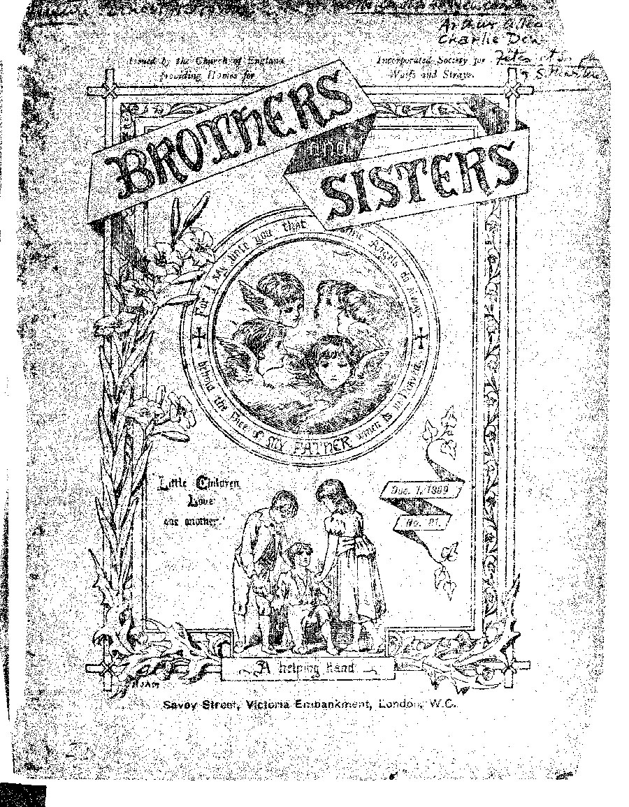 Brothers and Sisters December 1899 - page 1