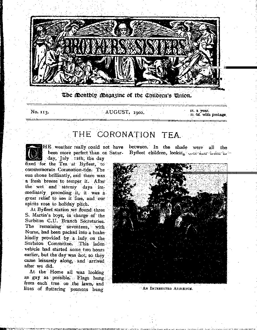 Brothers and Sisters August 1902 - page 1