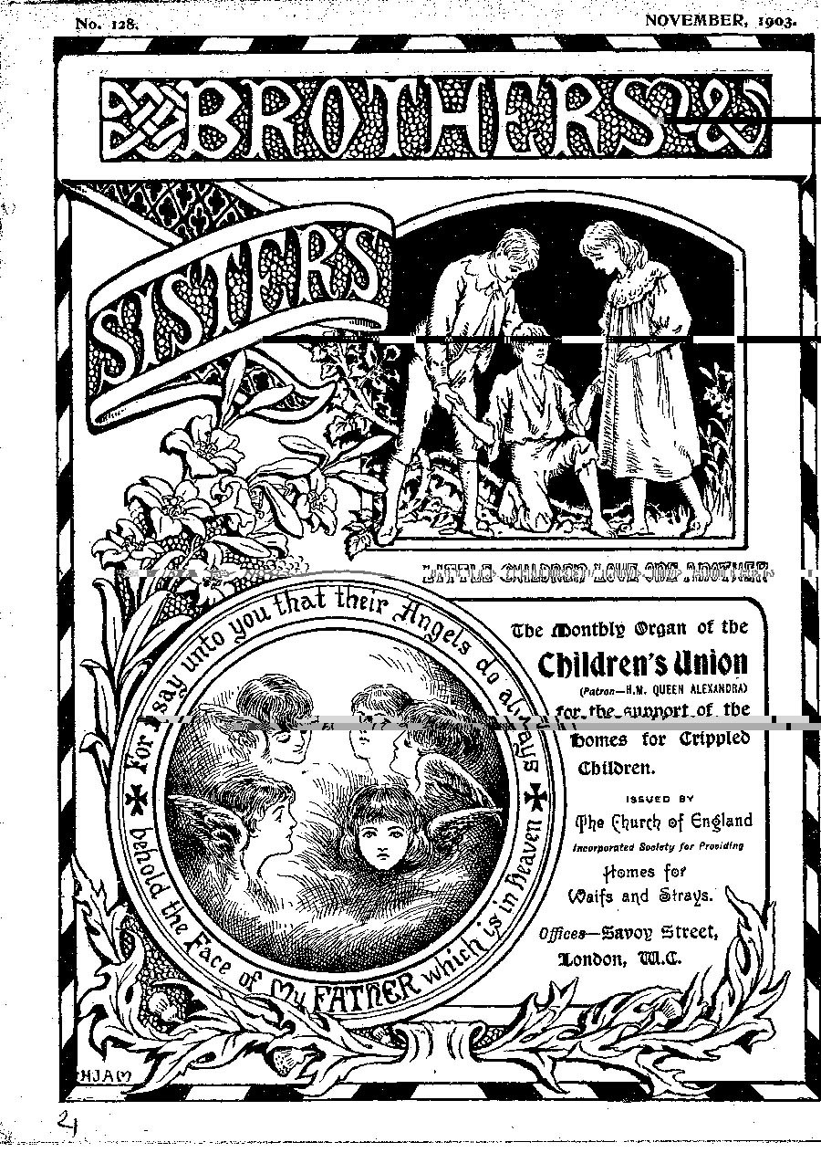Brothers and Sisters November 1903 - page 1