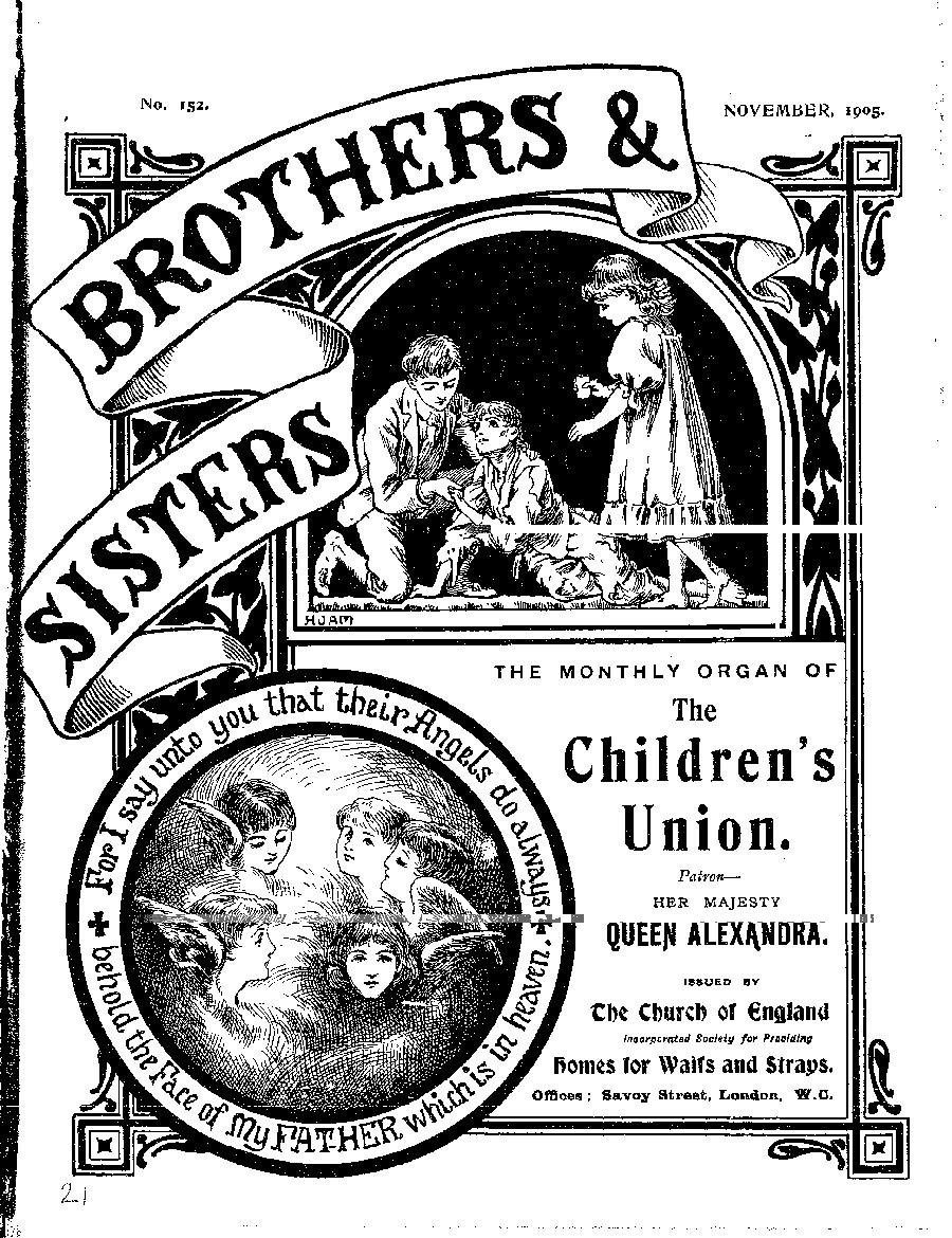 Brothers and Sisters November 1905 - page 1