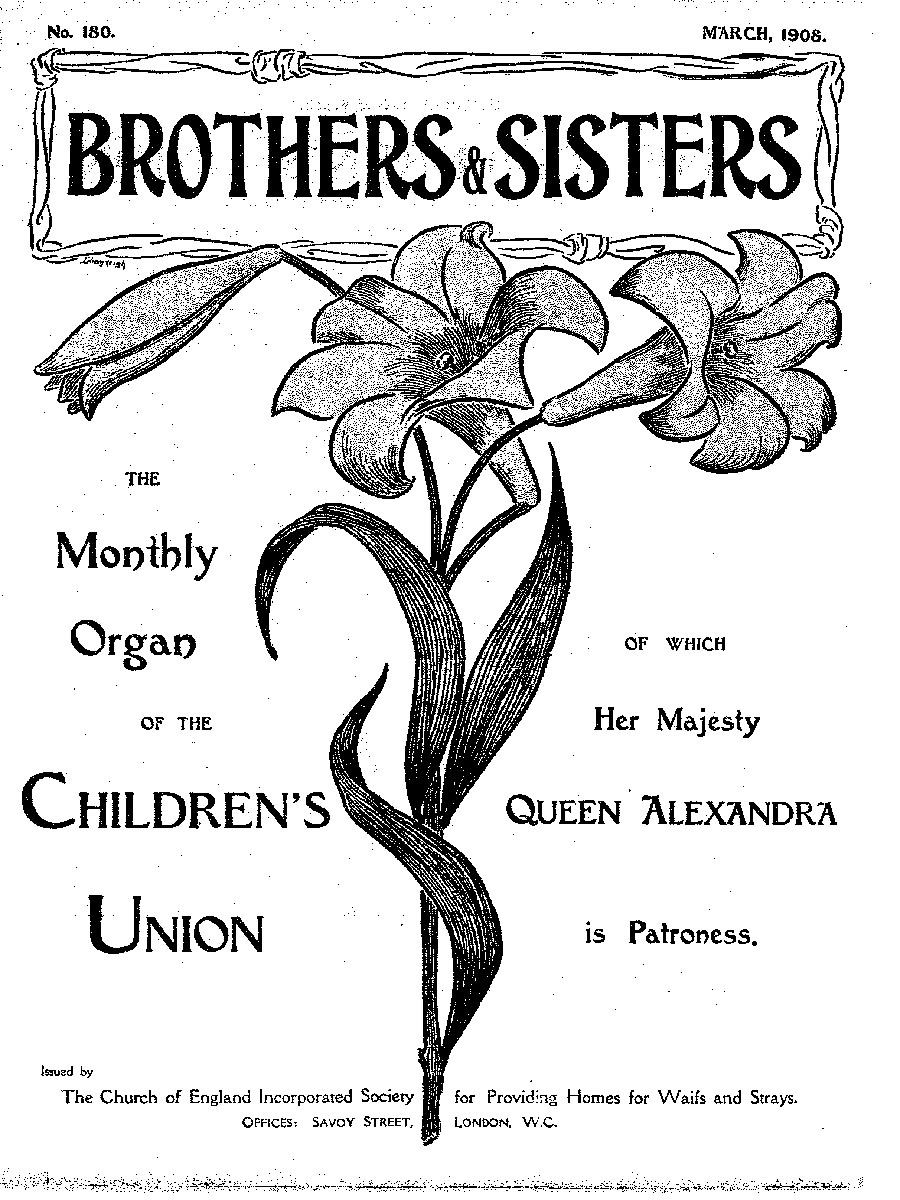 Brothers and Sisters March 1908 - page 1
