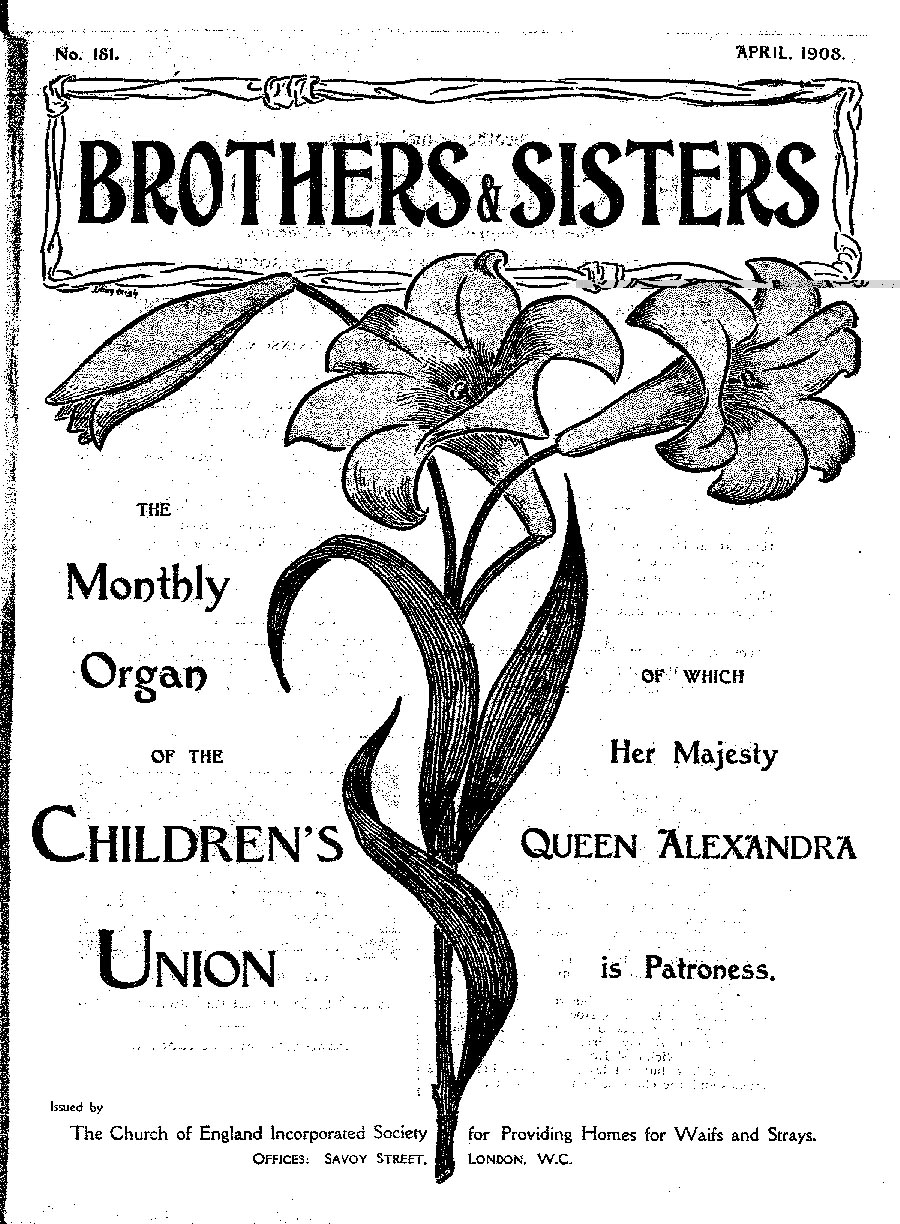 Brothers and Sisters April 1908 - page 1