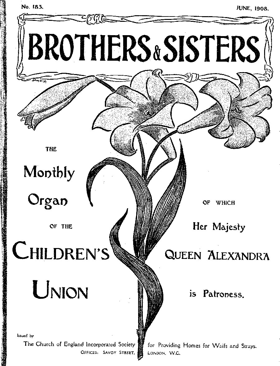 Brothers and Sisters June 1908 - page 1
