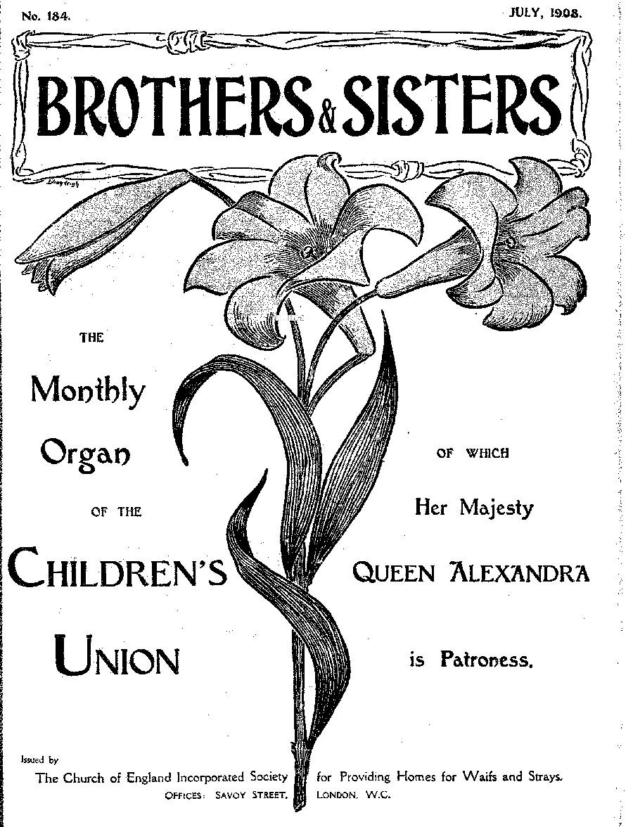 Brothers and Sisters July 1908 - page 1
