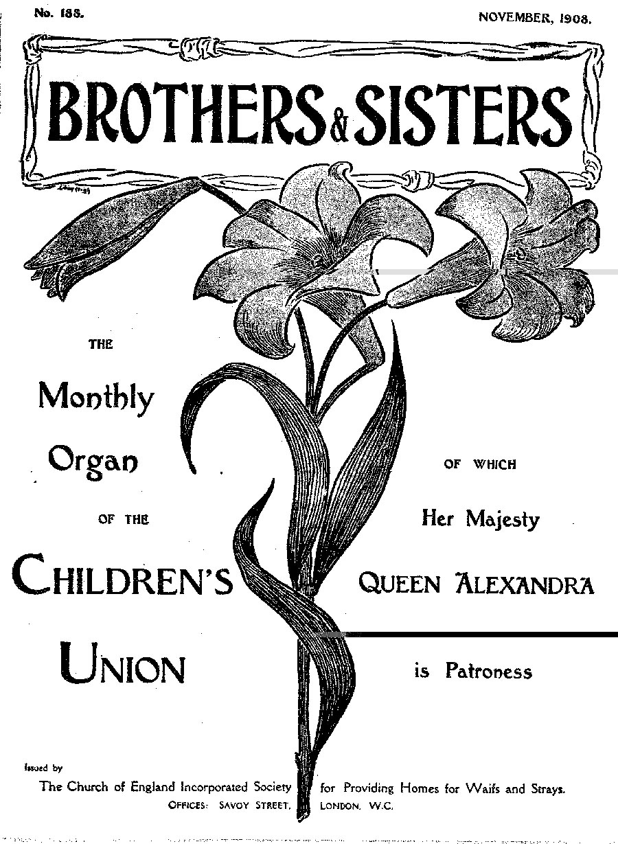 Brothers and Sisters November 1908 - page 1