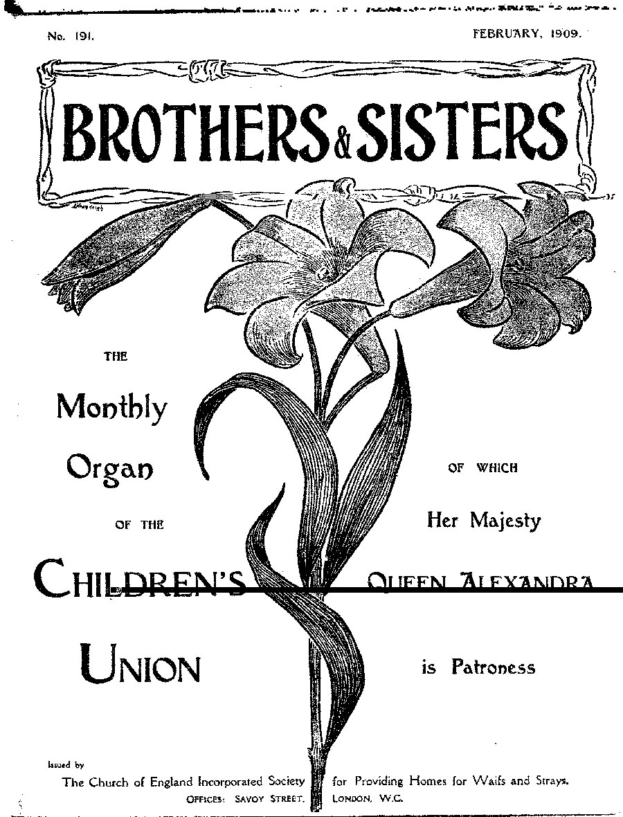 Brothers and Sisters February 1909 - page 1