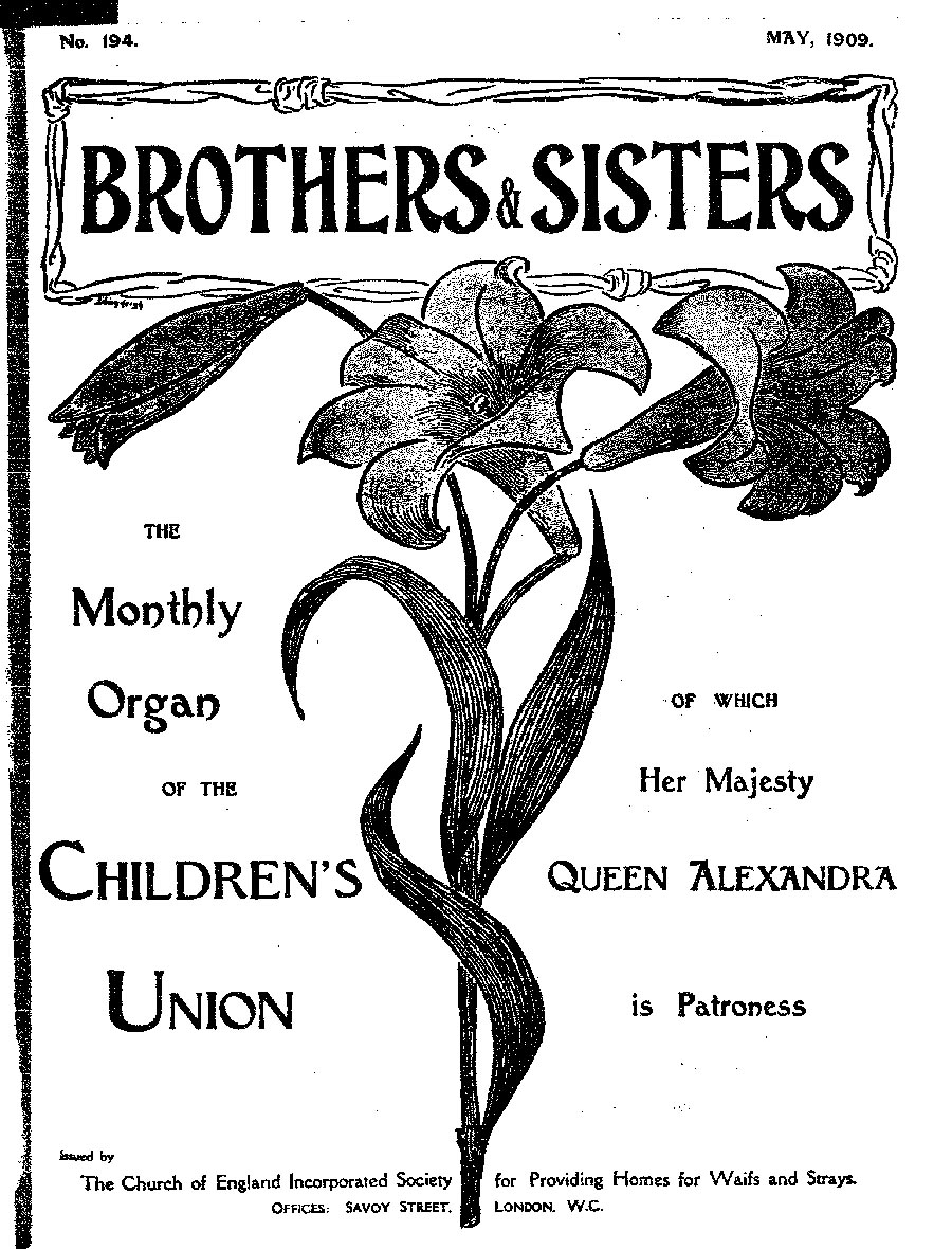 Brothers and Sisters May 1909 - page 1