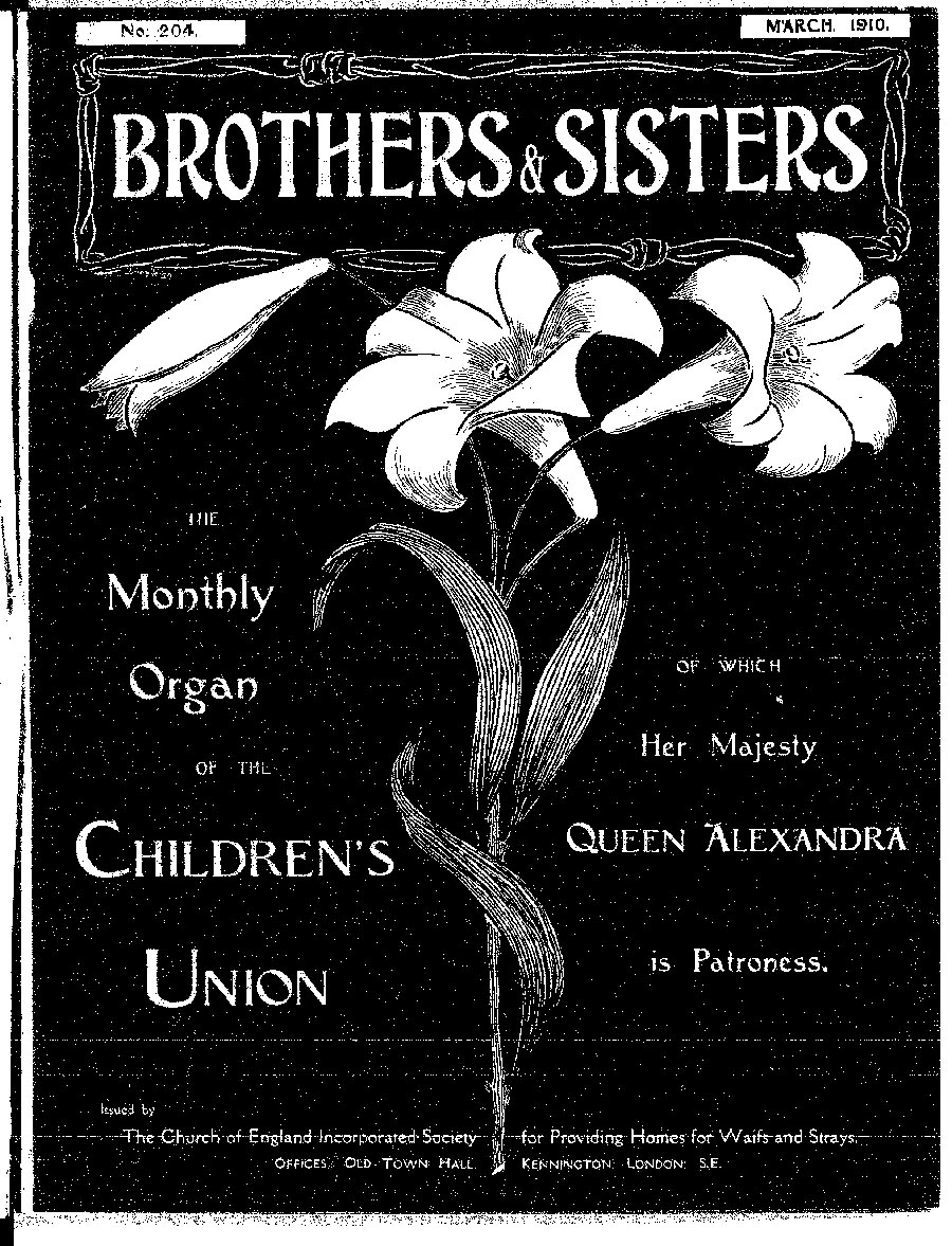 Brothers and Sisters March 1910 - page 1