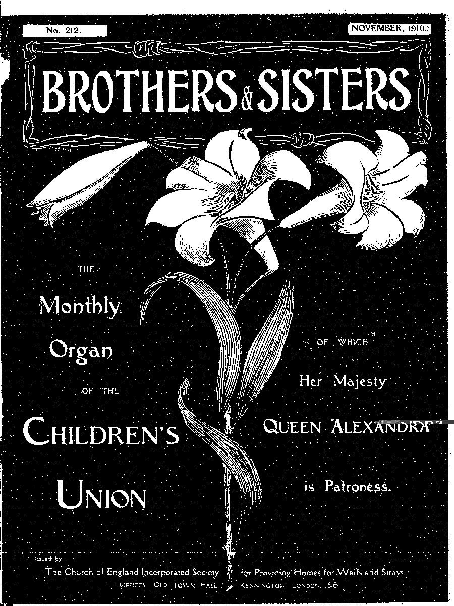 Brothers and Sisters November 1910 - page 1