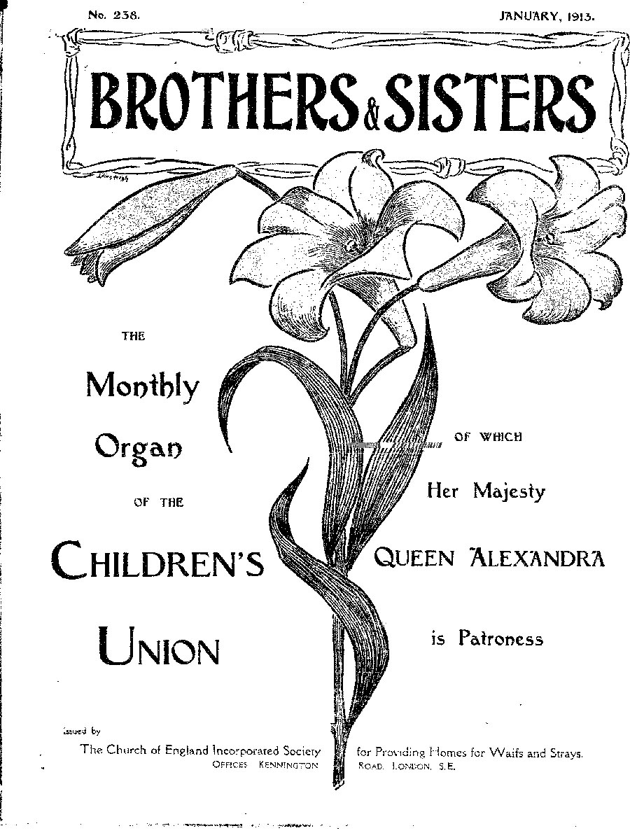 Brothers and Sisters January 1913 - page 1