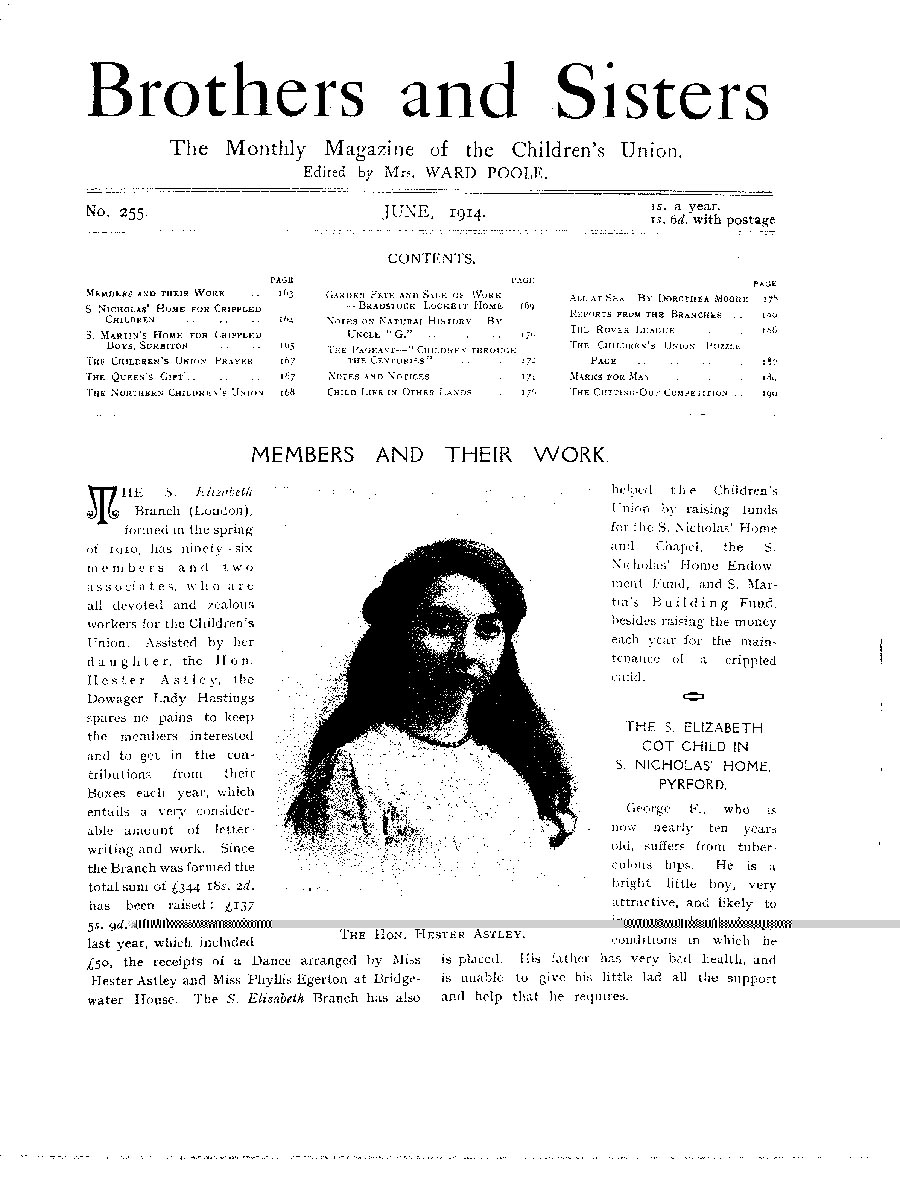 Brothers and Sisters June 1914 - page 1