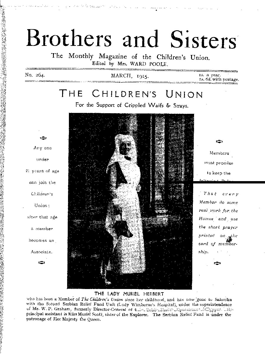 Brothers and Sisters March 1915 - page 1