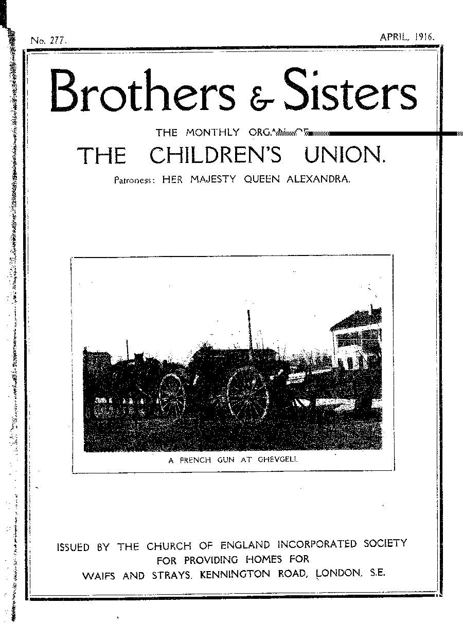 Brothers and Sisters April 1916 - page 1