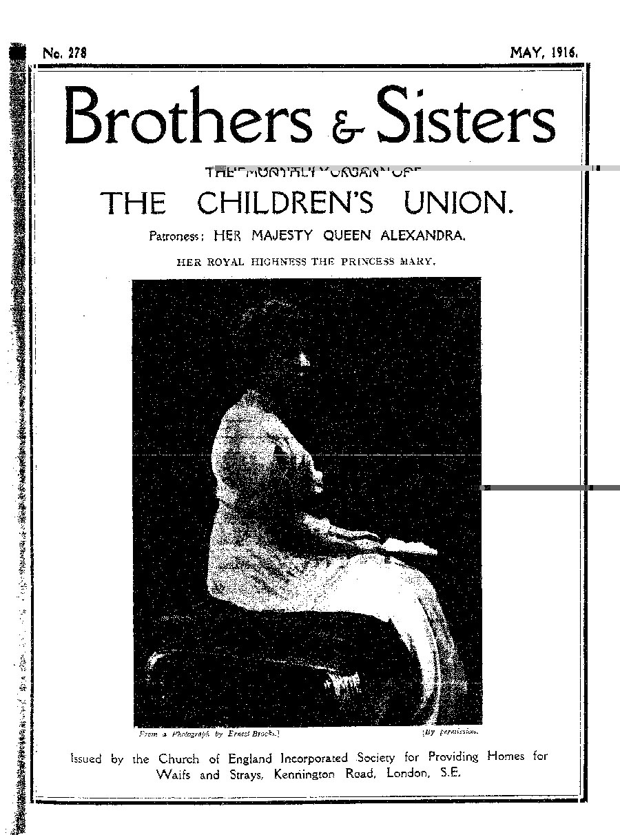 Brothers and Sisters May 1916 - page 1