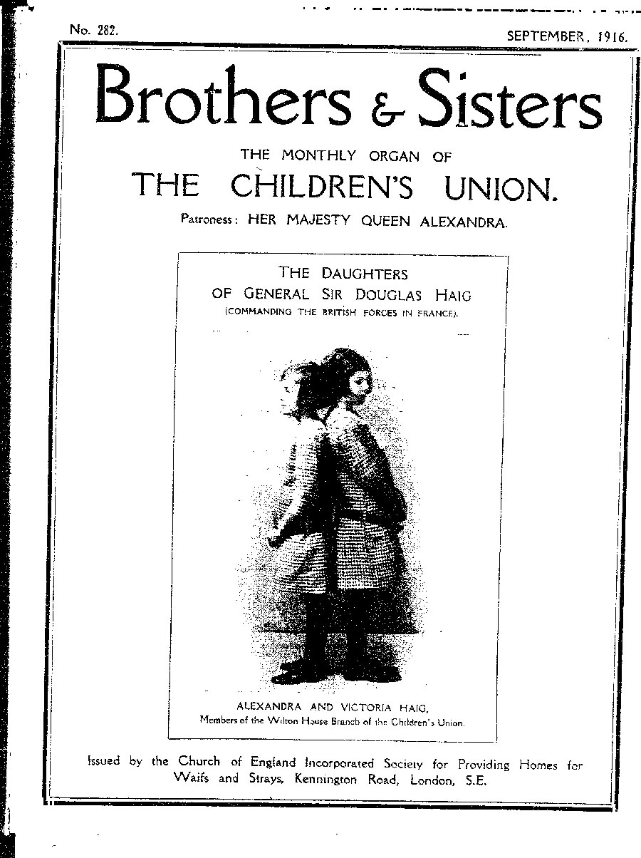 Brothers and Sisters September 1916 - page 1
