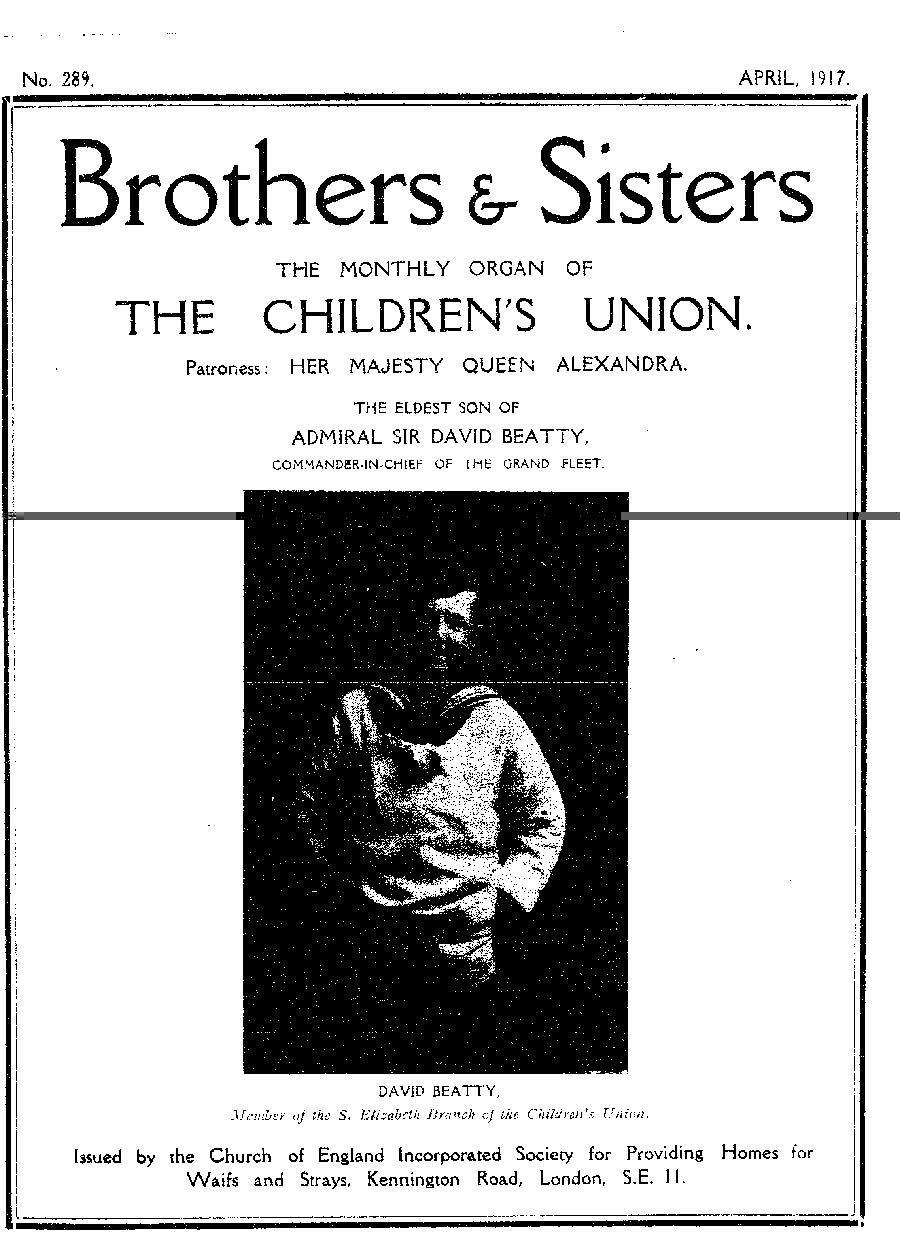 Brothers and Sisters April 1917 - page 1