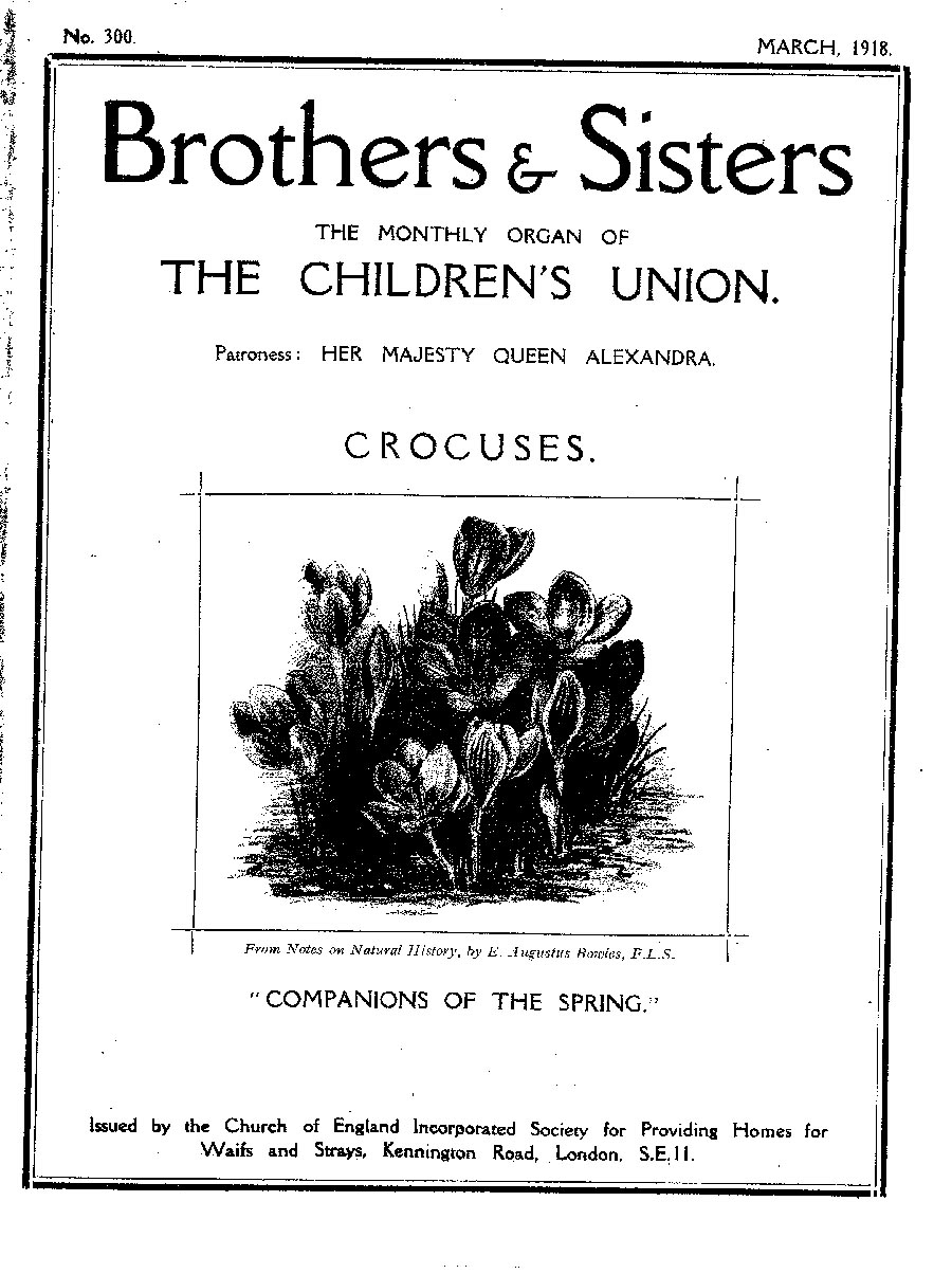 Brothers and Sisters March 1918 - page 1