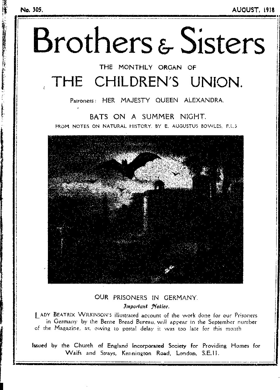 Brothers and Sisters August 1918 - page 1