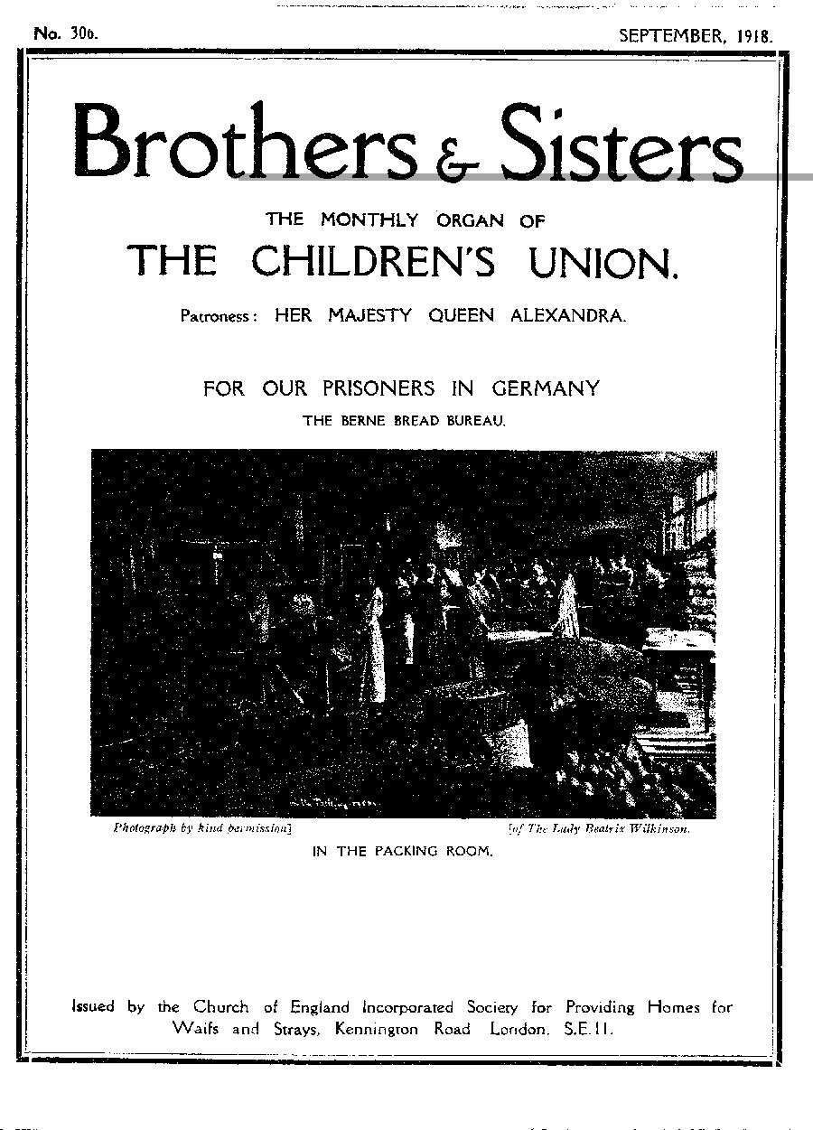 Brothers and Sisters September 1918 - page 1