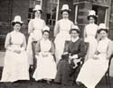 Staff at Bradstock Lockett Home
