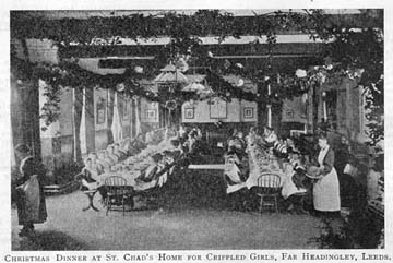 Children's homes always went to town with their festivities, making Christmastime something to remember. Many of the new arrivals had never experienced anything like it.