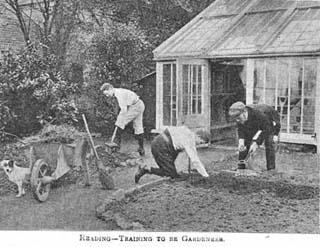 Training to be gardeners 1902