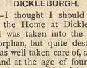 Life in Dickleburgh