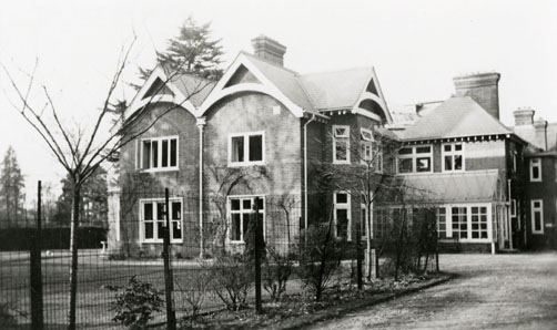 Photograph of Princess Helena Victoria Nursery, Grenville House, Ascot
