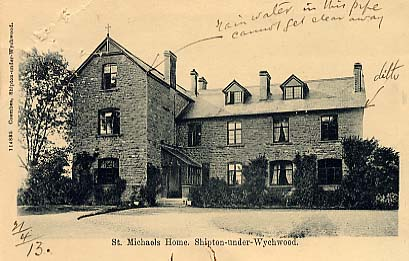 Photograph of St Michael's Home For Girls, Shipton under Wychwood