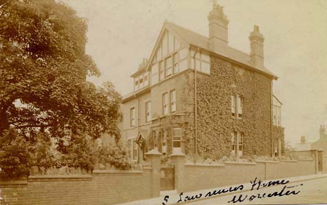 Photograph of St Lawrence's Home For Girls, Worcester