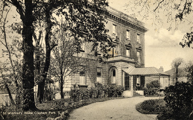Photograph of St Winifred's Home, Clapham Park, Balham