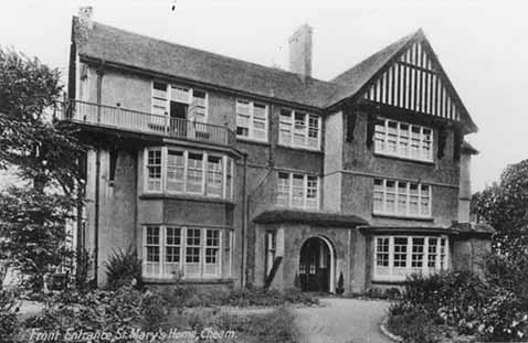 Photograph of St Mary's Home For Girls, Cheam