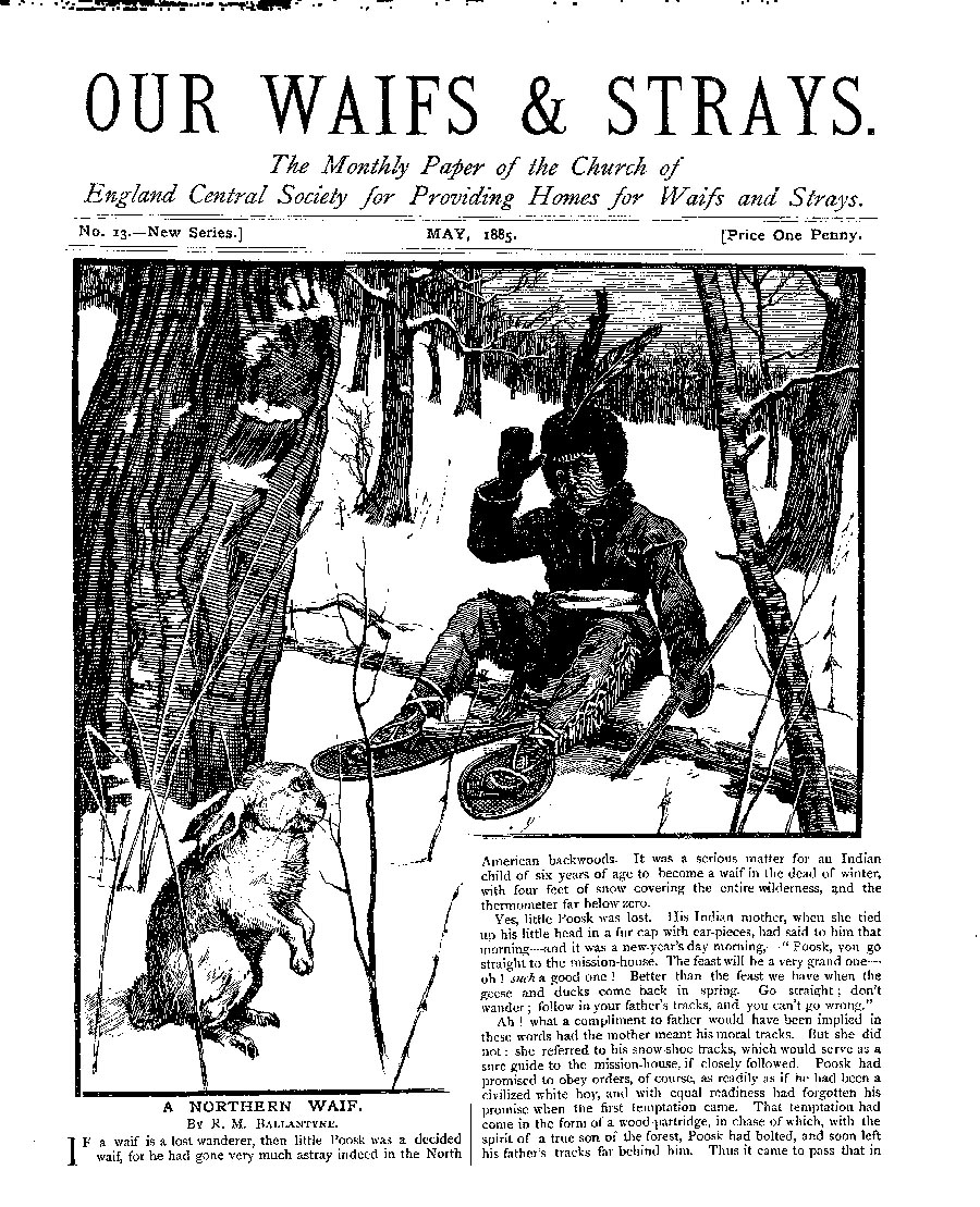 Our Waifs and Strays May 1885 - page 1
