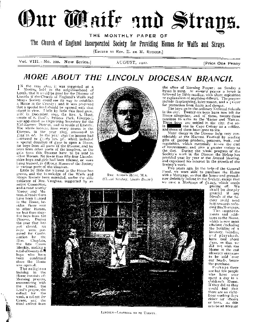 Our Waifs and Strays July 1902 - page 146
