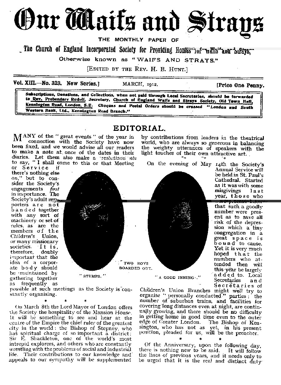 Our Waifs and Strays March 1912 - page 53