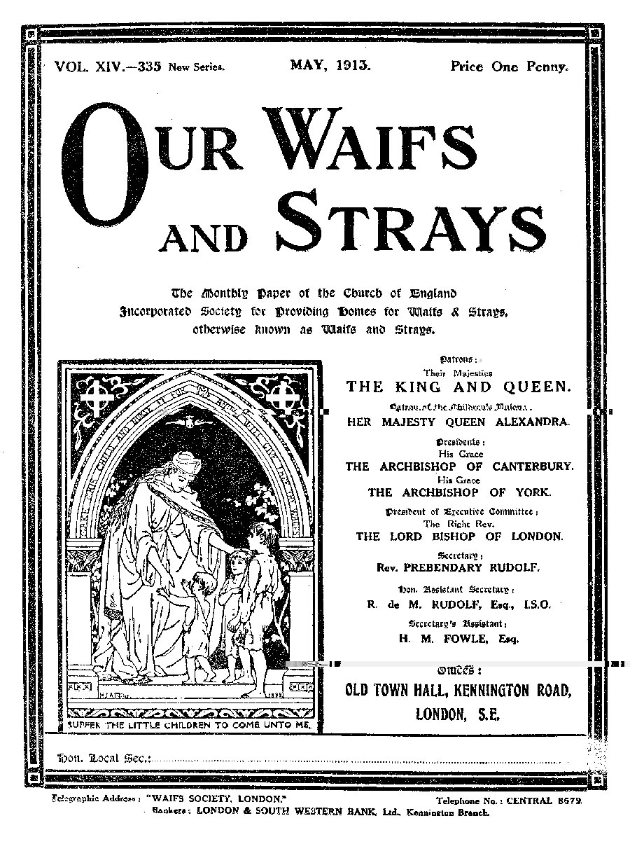 Our Waifs and Strays May 1913 - page 114